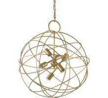 Lustra Ideal Lux Konse, 6xE27, auriu