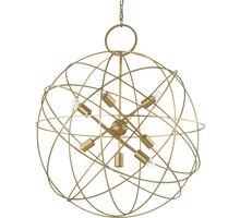 Lustra Ideal Lux Konse, 7xE27, auriu