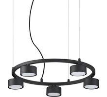 Pendul Ideal Lux Minor, 5xGX53, negru