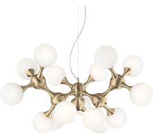 Lustra Ideal Lux Nodi, 15xE14, alama satinata-alb