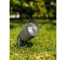 Spot mobil LED aplicat Nova Luce Mini, 3W, negru, rotund, IP65