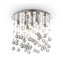 Plafoniera cristal Ideal Lux Moonlight, 8xG9, crom-transparent