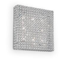 Plafoniera cristal Ideal Lux Admiral, 8xG9, crom